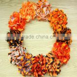 headbands Chiffon lace Flower , Fabric Flower For Girl Dress, baby hair accessories