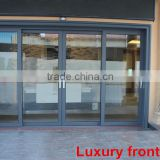 Heavy Duty gate door sliding double glazed door for House/Hotel Entry & Shop Front