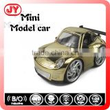 Cute die cast metal car model with induction hand shake lighting and musical with EN71