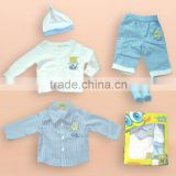 2016 Sponge Bob baby gift set sweater Sponge Bob baby clothes(Sponge Bob authorized production)