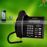 Novelty corded phone support bluetooth connect to mobile for home /business