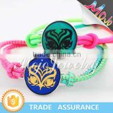 New Designs Abstract Owl Head Pattern Fashion Color Changes Bracelet Bracelets Jewelry for Boys