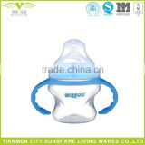 BPA Free Plastic Polypropylene Baby Bottle Feeding Infant Feeder Bottlers