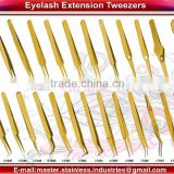 Volume Eyelash Extension Tweezers/ Russian Volume Extensions/High Precision Professional Series Long and Slim Eyelash Extension