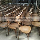 Muebles de madera cross back chair x silla
