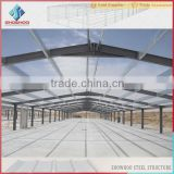 cheap light frame steel structure building commercial broiler chicken farm houses design