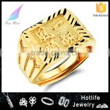 2016 chinese culture big ring designs for men 24k gold ring for souvenirs                                                                         Quality Choice
