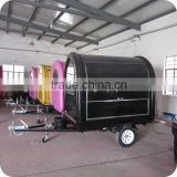 2013 Quick Delivery Black Beer Beverage Cooler Food Vending Box Carts with Tricycle XR-FC220 B