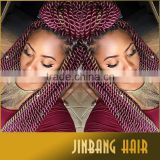 Cheap price synthetic hair extension 24 inch 2x havana mambo twist crochet braiding hair