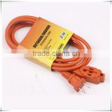 Electric 3-outlet female cord 110V power multi socket extension cord                                                                                                         Supplier's Choice