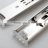 Top quality 3-fold SUS 304 stainless steel drawer channel