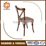 Gold Supplier Cheap Black Cross Back Dining Chairs