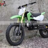 Chinese Diesel Engine Gas Powered Green Dirt Bike 150cc Motorcycle for sale Cheap                                                                         Quality Choice