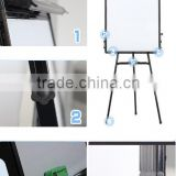 Magnetic Dry Erase Surface Flip Chart & Easel Whiteboard Easel
