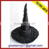 2015 new product New design Fashion Party Black Halloween Hat with good quality