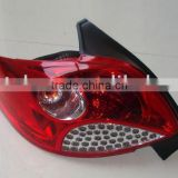peugeot 207 tail lamp, taillight for peugeot 207