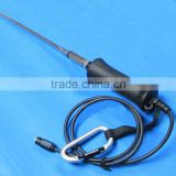 decorative antenna for car use 4 sections rod antenna 80cm cable injection SMA male connector