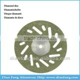 Em22D20 22mm Flexible Miniature Perforated Dental Full Coated Diamond Disc Diamond Band Saw Blades