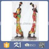 Wholesale Resin Figurines Black African Woman Statue for Home Decoration                                                                         Quality Choice