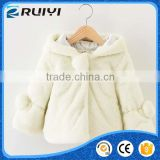 wholesale boutique baby kids clothes winter fur coat