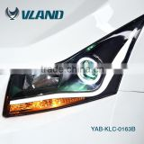 Made in CHina new type brighter light bar led headlamp manufacturer cruze body kit for led headlight auto