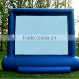 rear projection inflatable movie screen for sale,inflatable model Type inflatable projector screens
