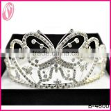 Large Pageant Butterfly Festival Crown Tiara For Children