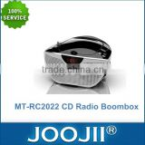 Portable CD Player With Anti-Shake Function For CD/ CD-R/ MP3 Disc, Top Quanlity CD Radio Boombox With Best Price