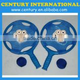 High quality beach racket/beach ball racket games/plastic paddle