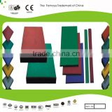 Playground surface/Rubber mat/floor tile/rubber flooring for children's playground,play area