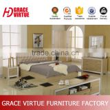Wood Material and Modern Appearance Year lowest price hydraulic king bed for mattress size 1800x2000 mm-T8018