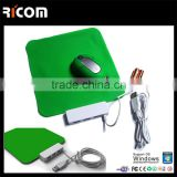 wireless mouse and mouse pad set,silicone mouse pad and wireless mouse set,foldable mouse pad and wireless mouse-MP201