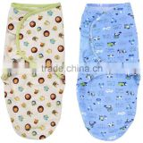 100% cotton muslin adjustable baby wrap cloth infant swaddle blanket                                                                         Quality Choice