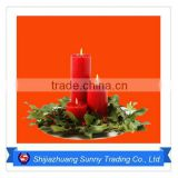 Paraffin Wax Christmas Shaped Candles For Sale