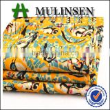 Shaoxing Mulinsen customized printed chinese 100% viscose printed fabric from chinese factory
