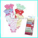 Monday to Sunday baby girls 7 pack rompers, clothing gift set                                                                         Quality Choice