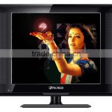 17inch LCD TV/12 Volt DC ATV DTV/USB Suport video/VGA/YPbPr/Cheap Chinese tv sets/flat tv