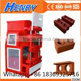 ecological technology HR1-10 automatic hydraulic clay soil interlocking brick making machine best price in Zambia