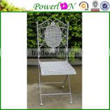 Wholesale Vintage Folding Antique Square Classical Garden Chair Outdoor Furniture For Backyard J15M TS05 X00 PL08-5879CP
