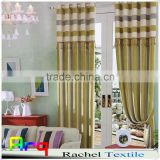 Bright color Stripe Chenille fabric for Curtain, sofa cover, cushion cover, bedding