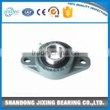 UCFL Pillow Block Mounted Bearing, 2 Bolt , Set screw Lock, Cast Iron.