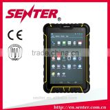 7 inch Android 4.4.4 OS Rugged Tablet PC with Fingerprint Reader and barcode scanner optional support jacket extension