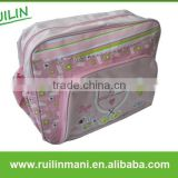 Durable Baby Girl Chevron Diaper Bag