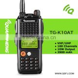 10W handheld type voice encrypted two way radio TG-K10AT