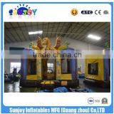 SUNJOY 2016 new designed inflatable bouncer, air bouncer, inflatable trampoline for sale