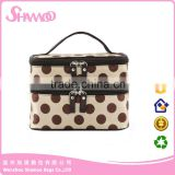 Makeup Train Case Professional Beauty Artist Storage Waterproof Makeup Cosmetic Bag Holder Organizer