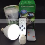 Factory price 4W 6W emergency led light bulbs E27 rechargeable led bulb