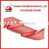 2015 Direct factory custom colorful cheap woven ribbon/100%polyester ribbon woven strip ribbon