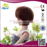 Factory New arrival fashion wig mix colour doll hair