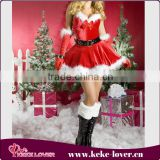 factory direct sale cosplay indian costumes adult girls snow red christmas costume lingerie modern dance costumes